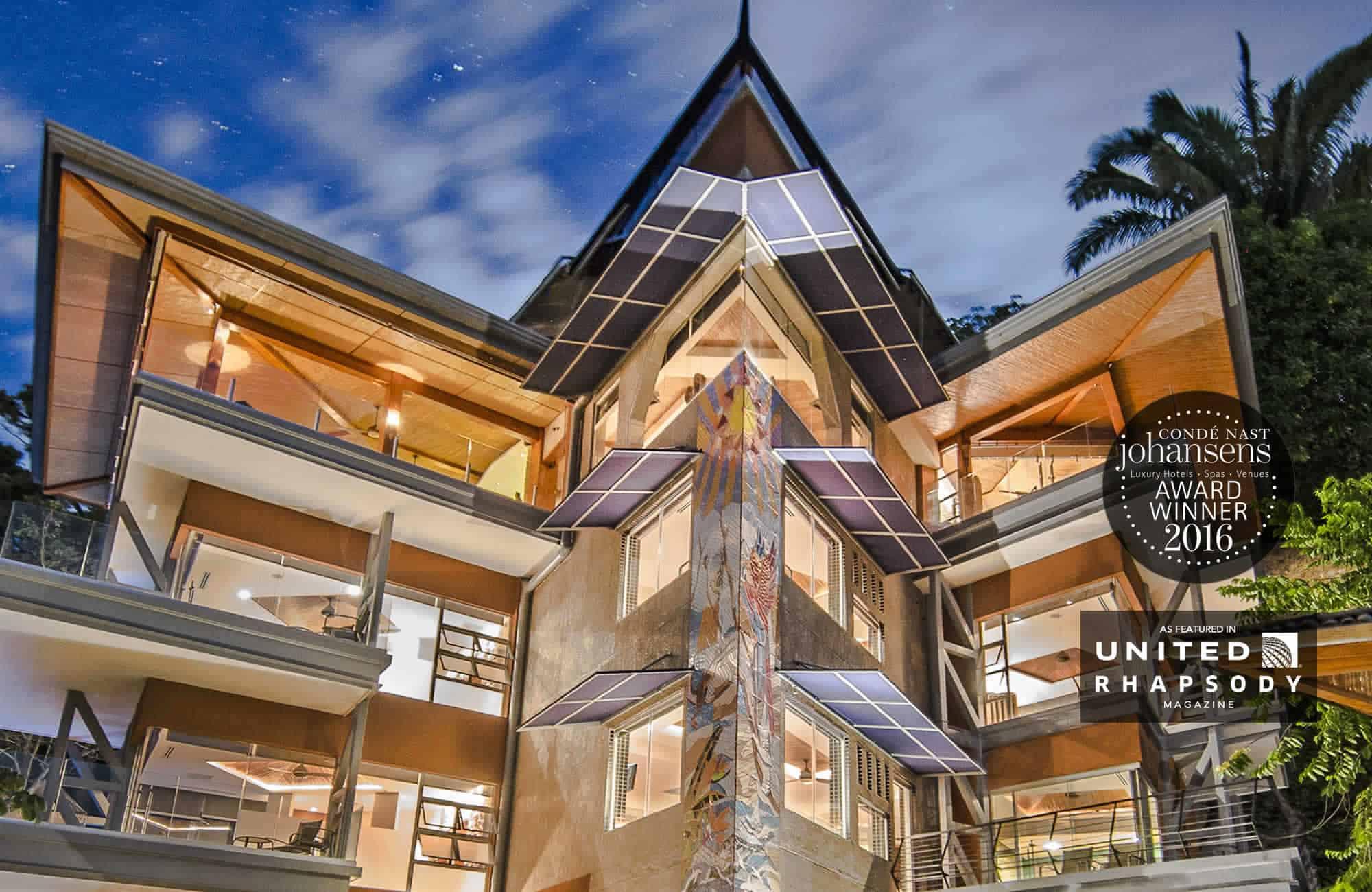 villa is better than a house