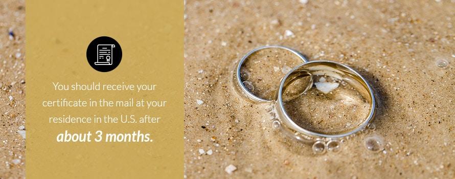 Costa Rica Destination Wedding Mariage Requirements