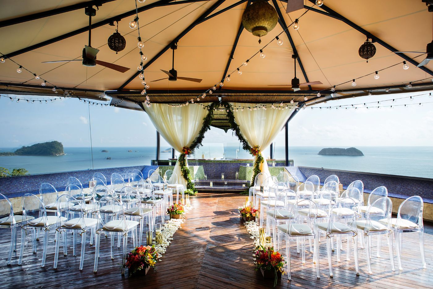 wedding amenities at luxury costa rica villa