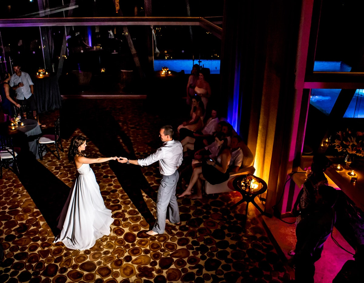 costa rica wedding venues with pool and ballroom