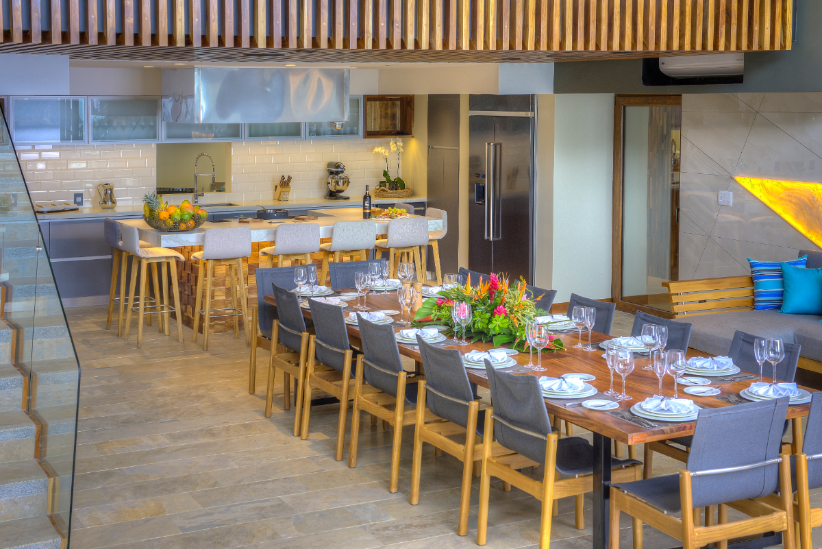 Lower Floor Social Space & Gourmet Kitchen