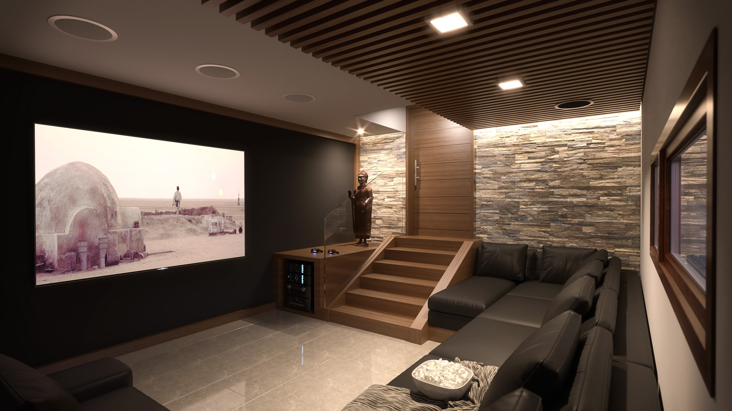 Theatre/Game Room