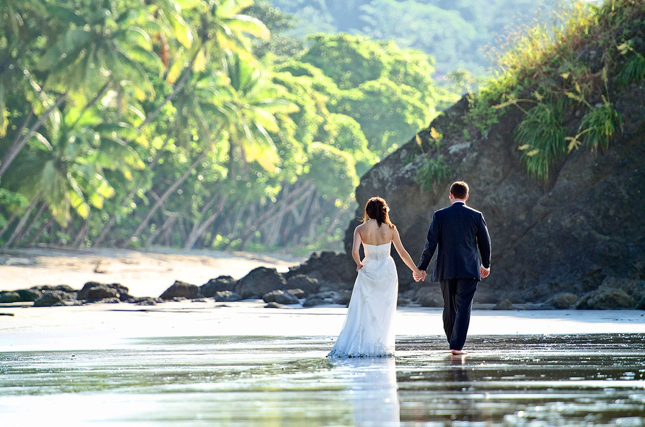 luxury wedding destination in costa rica