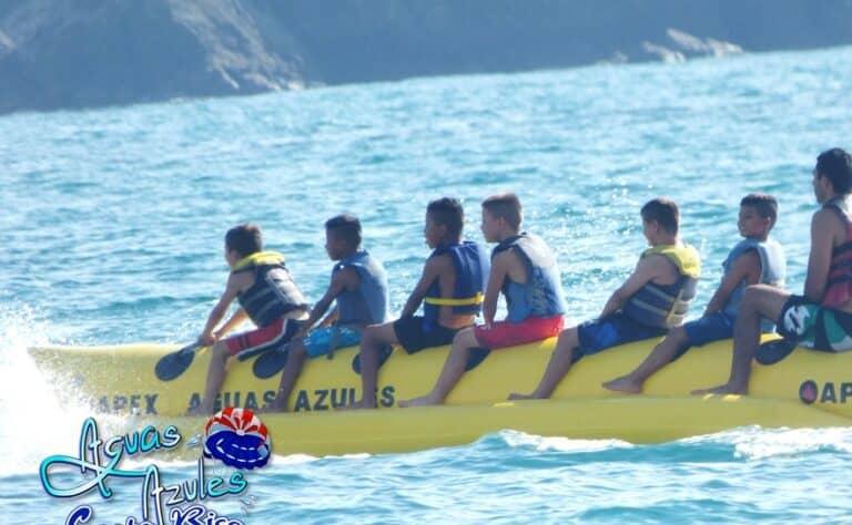 banana boat rides costa rica vacation