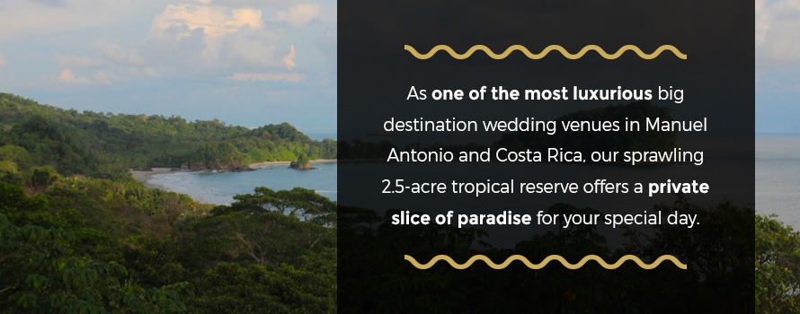 where to have large wedding in costa rica