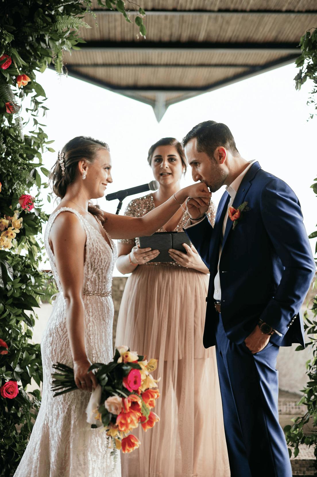 Anna & Michael Real Wedding At Villa Punto de Vista (Susan La Rue Events)
