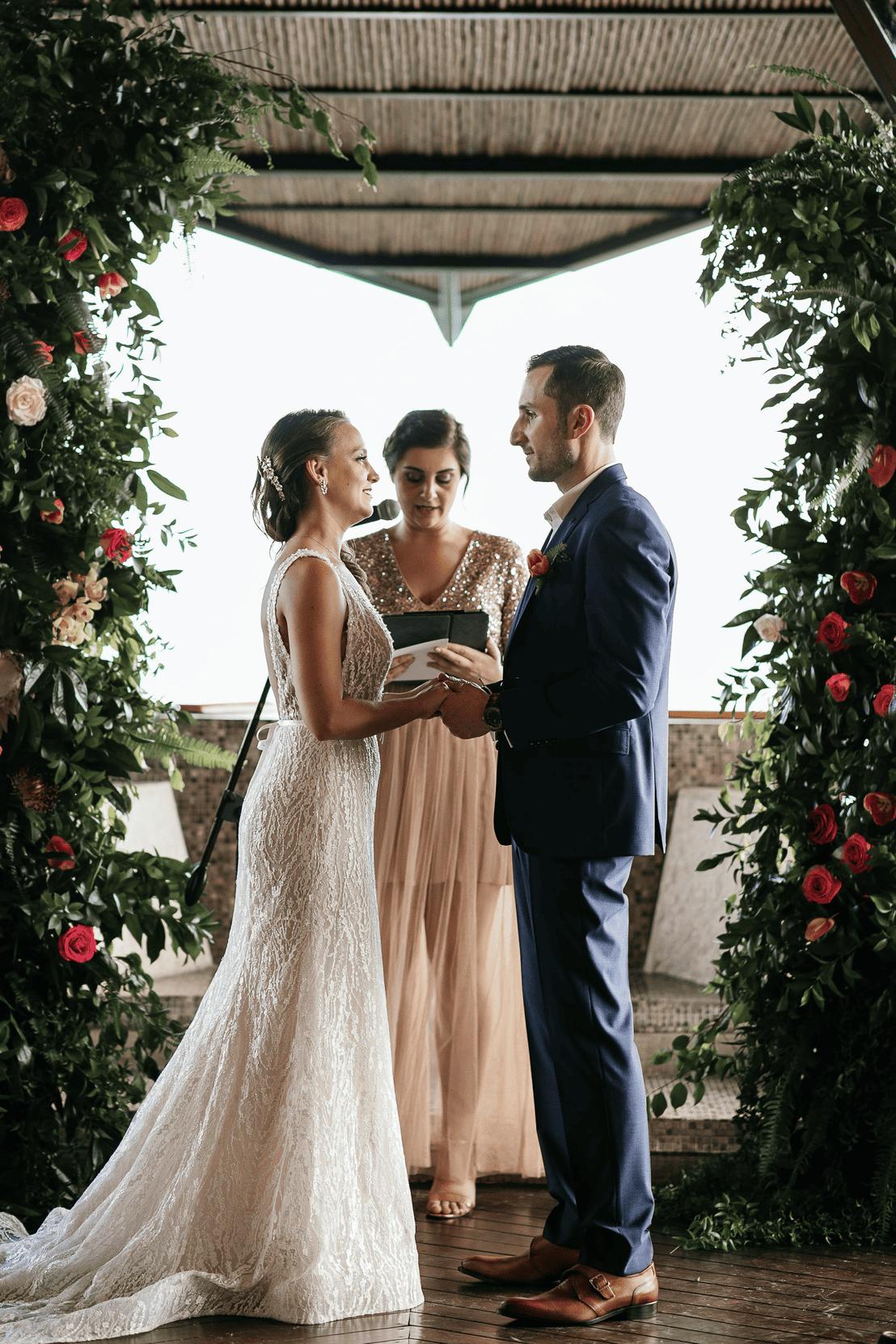 wedding at punto de vista
