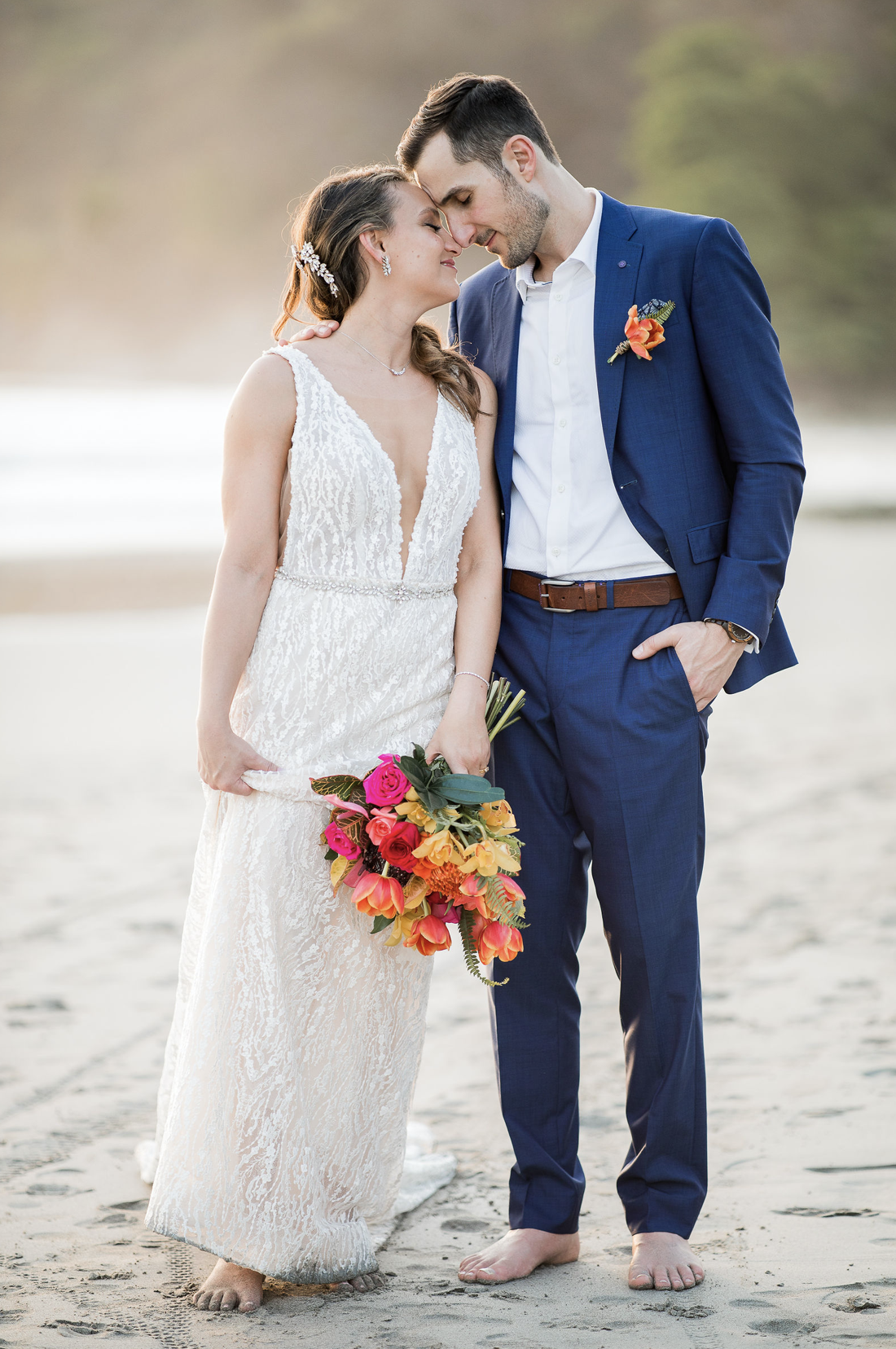 happy wedding abroad